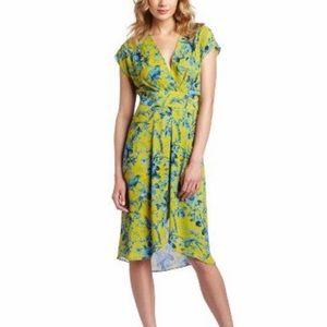 BCBGMaxAzria Thia Golden Canary Dress Size Medium